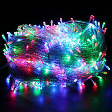 100/200/300/500 LED String Fairy Lights Indoor/Outdoor Christmas Garden Party