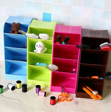 Storage Box Organizer Desk Cosmetic Office Boxes Home Underwear Candy Color Bar