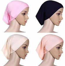 Underscarf Cover Headwrap Hijab Head Scarf Islamic Women Bonnet Muslim Cotton