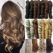 Real Thick Clip in As Human Hair Extensions Extension Remy Synthetic Hair Lady