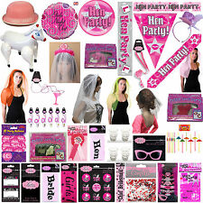 Ladies Girls Hen Party Night out Fancy Dress Party Accessories