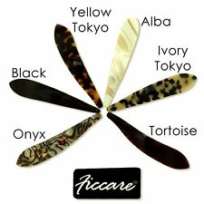 Ficcare Maximas Acetate Hair Clip Handmade France 3 sizes