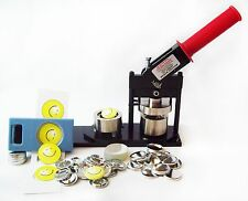 """1.25"""" Tecre Button Maker Machine,Button Boy Hand Held Punch  and Pin Back Parts"""