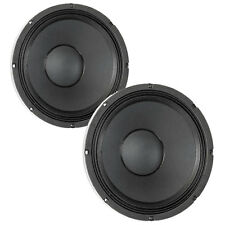 """Pair Eminence Kappalite 3012LF 12"""" Neo Sub Woofer 8ohm 3"""" VC Replacemnt Speaker"""