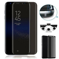 9H 3DCurved Anti-Spy Tempered Glass Screen Privacy Film for Samsung Galaxy S8 S7