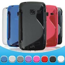 Silicone Case for Samsung Galaxy Y Duos S-Style  + protective foils