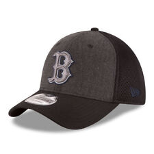 Boston Red Sox New Era Neo 39THIRTY Flex Hat - Heathered Gray/Black - MLB