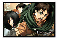 Attack On Titan Scouts Poster Magnetic Notice Board Inc Magnets