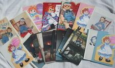 Vintage Raggedy Ann & Andy Greeting Cards Birthday Thank You Sorry Sharing Card