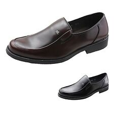 Work Loafers Slip On Faux Leather Mens Shoes AU sz 5 6 7 8 10 11 12