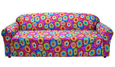 """MARKDOWN---TIE DYE COVERS FOR SOFA COUCH LOVESEAT CHAIR RECLINER- """"STRETCHES"""""""