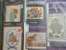 `YOUR CHOICE: JANLYNN / SUGARPLUM EXPRESS CROSS STITCH KITS CHARMIN / MUNCHKINS