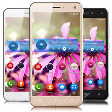 5.0'' Mobile Phone Android Quad Core 2 SIM GSM 3G Unlocked Smartphone GPS WIFI