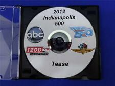 2012 Indianapolis 500 Tease DVD JR Hildebran W Power H Castroneves D Franchitti