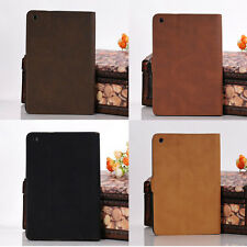 Luxury Retro Leather Smart Case Stand Cover for Apple ipad mini New ipad 2/3/4