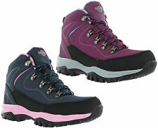 Northwest Texas Leather Walking Hiking Womens Lace Up Trail Boots UK3-8