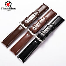 12-18 19 20 22MM Genuine Cow Leather from Italy Wrist Watch Band Strap Men Women