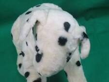 ADORABLE BLACK WHITE DALMATIAN PUPPY DOG POSEABLE FRONT LEGS TOY HOUSE PLUSH PUP