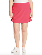 COLUMBIA Womens Anytime Casual Skort 1X Plus Skirt w/ Attached Shorts