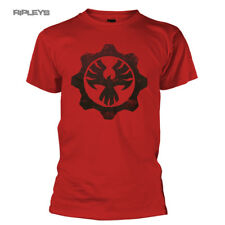 Official T Shirt Game Gears of War 4 Red Distressed PHOENIX Omen All Sizes