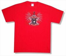 Buddy Guy Gothic Guitar 2010 USA Tour CT-MN Red T Shirt New Official