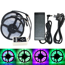 5/10M RGB 133 Dream Color 5050 6803 IC Waterproof LED Strip + Remote + Power