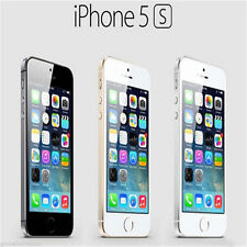 "Apple iPhone 5S- 16 64GB GSM ""Factory Unlocked"" Smartphone Gold Gray Silver"