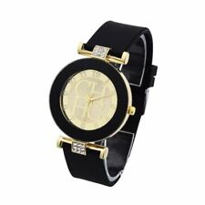 Women's Casual Crystal Trendy Wristwatch Fashion Gold Classy Sport Quartz Watch
