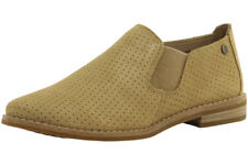Hush Puppies Analise Clever Perforated Suede Loafers Shoes