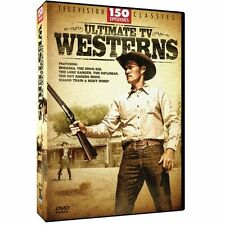 Television Classics ULTIMATE TV WESTERNS 12-Disc DVD Set 150 Episodes