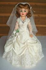 VINTAGE 1950 MISS REVLON IDEAL BRIDE DOLL VT-20 -LOTS OF CLOTHES-NICE-NO ISSUES