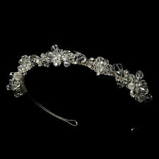 Headband #7820 Swarovski Crystal Bridal Headpiece