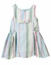 NWT Gymboree Spring Social Bow Silk Easter Dress Size 2T