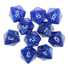 10pcs 8 Sided Dice D8 Polyhedral Dice for Dungeons and Dragons Game Dice