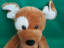 BROWN TAN SPOT BARKING SOUND BUILD A BEAR PUPPY DOG PLUSH STUFFED ANIMAL TOY