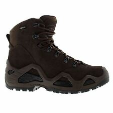 Lowa Z-6S Gore-Tex Dark Brown Mens Suede Outdoor Hiking Military Combat Boots