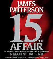 15th Affair by James Patterson and Maxine Paetro (2016, 6 CDs, Unabridged)