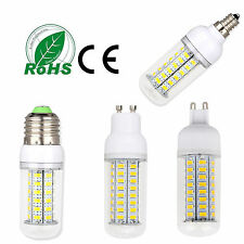 LED Corn Bulb E26 E12 E27 E14 G9 GU10 5730 SMD Light Dimmable Lamp Bright White