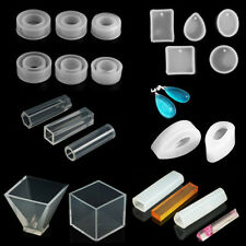 DIY Silicone Pendant Mold Ornament Resin Casting Mould Making Jewelry Craft Tool
