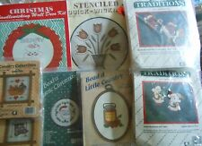 CHOOSE ONE:WANG'S/TRADITIONS BEADS & CROSS STITCH/CANDLEWICK/FELT ORNAMENT KITS