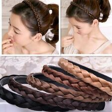 Fashion Women Twisted Wig Braid Hair Band Braided Headband Hair Accessories