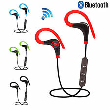 Wireless Bluetooth Sport Headset Stereo Headphone Earphone for iPhone Samsung