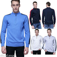 Stylish Mens Knitted Cardigan Jacket Slim Fit Thick Casual Sweater Coats Outwear