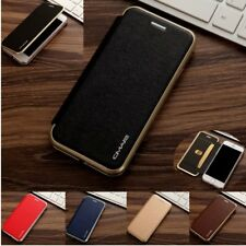 Luxury Fashion Flip Leather Wallet Card Magnetic Case Cover For iPhone 7 6S Plus