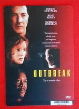 OUTBREAK ~ Dustin Hoffman ~ DVD Movie Backer Mini Poster Card ~ NOT a DVD