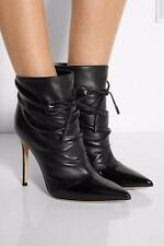 Fashion Womens Pointy Toe Lace Up Ankle Boots Stilettos High Heel Pumps Shoes Sz