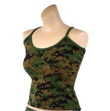 Womens Digital Camo Sexy Tank Top,  Camisole