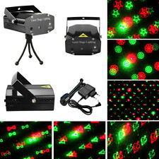 20 in1 Mini R&G Laser Stage Light Projector LED Party Disco Lighting Lamp Show