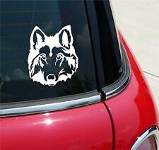 WOLF HEAD DETAILED WOLVES DOG GRAPHIC DECAL STICKER ART CAR WALL DECOR