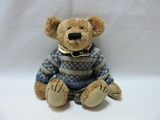 "Boyds Teddy Bear Tyler Jointed Plush Stuffed Animal 11"" Sweater Pants"